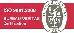 ISO 9001:2008 BUREAU VERITAS Certification